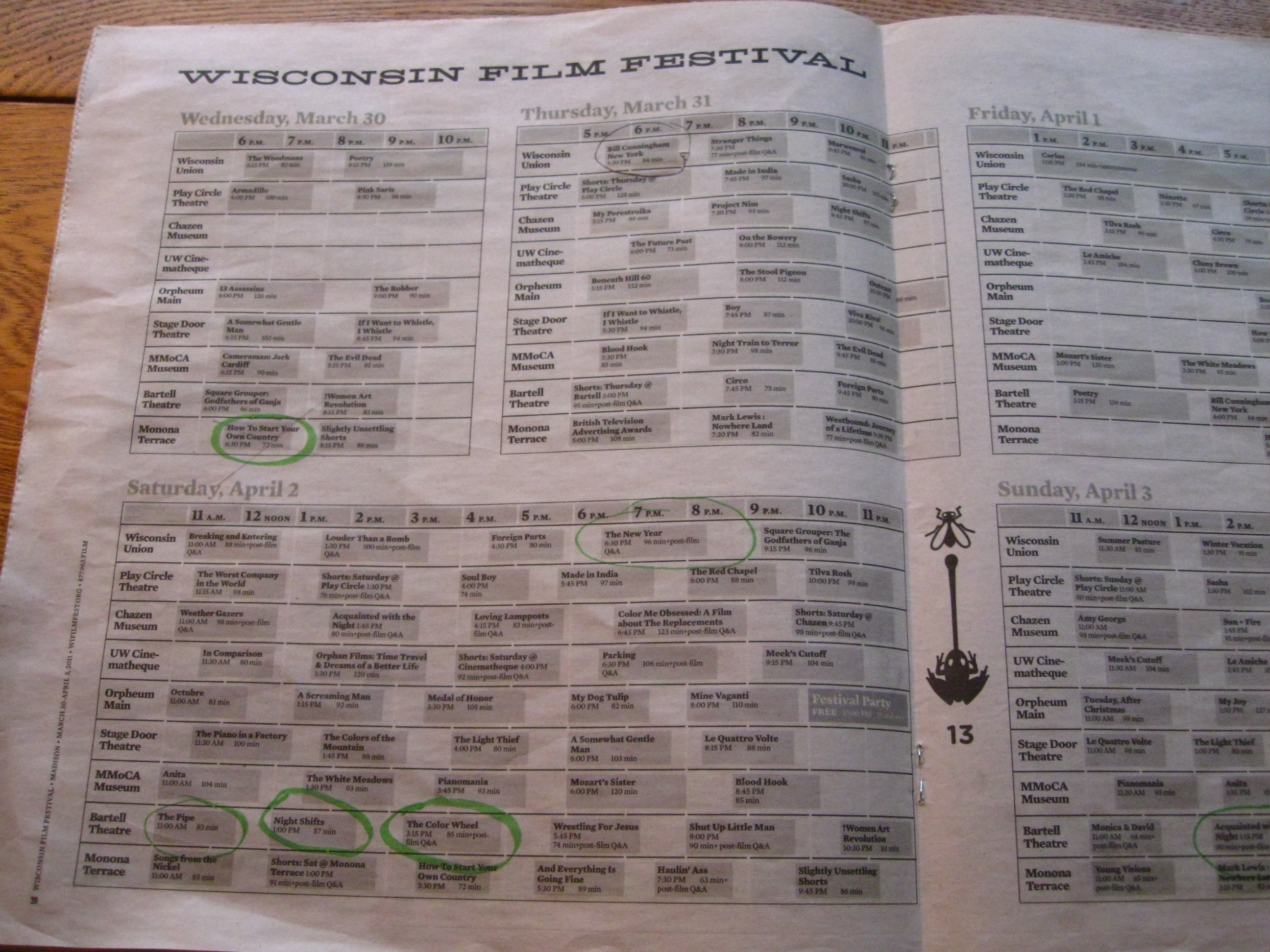 Now That Wisconsin Film Festival Has >> Wisconsin Film Festival Wisconsin Fun Next Exit